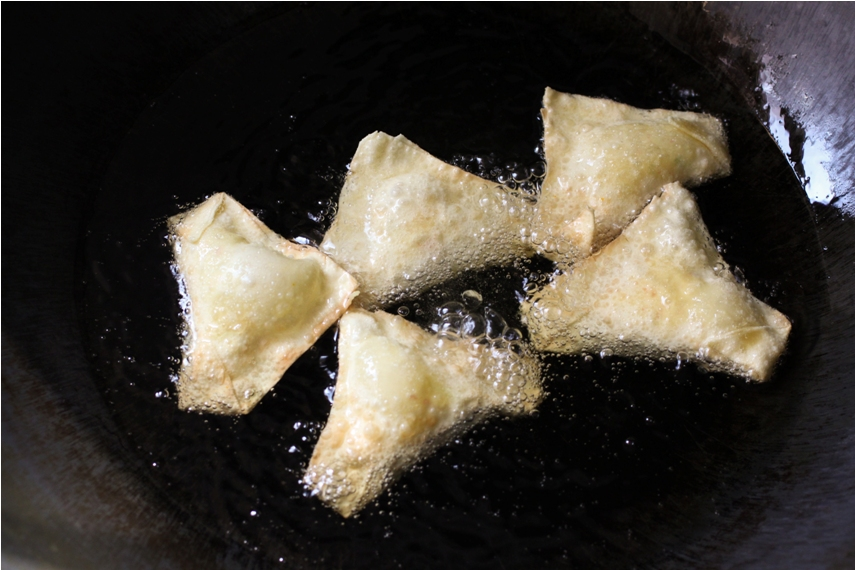 how to make wontons with cream cheese and crab